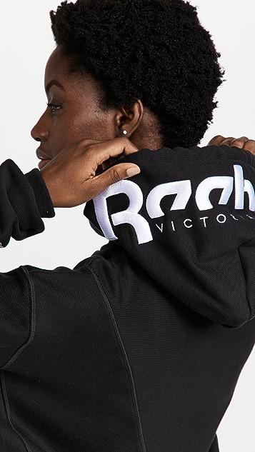 Reebok x Victoria Beckham RBK VB Cropped Hoodie