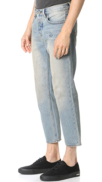 RVCA No Wave Flood Jeans