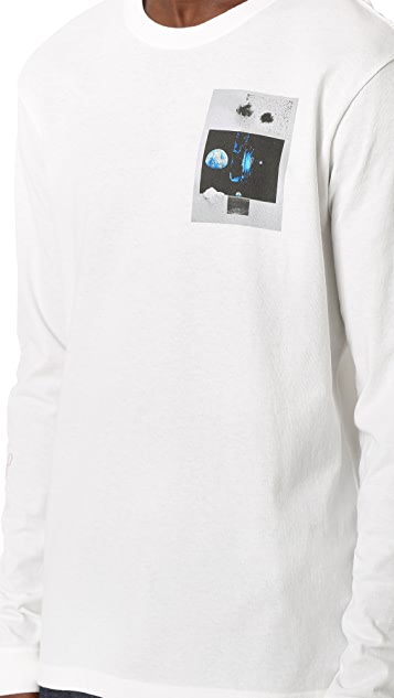 RVCA No Wave Natural Tee