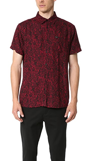 RVCA Tunnels Short Sleeve Shirt