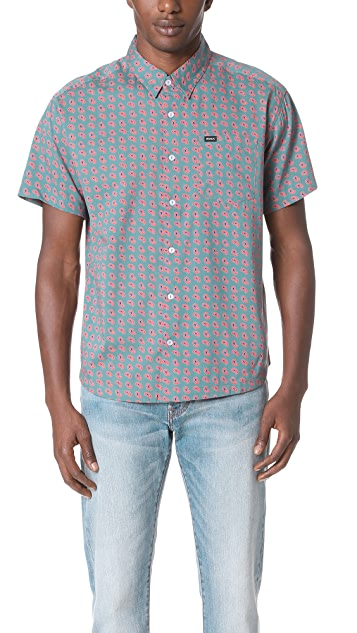 RVCA Simon Short Sleeve Shirt
