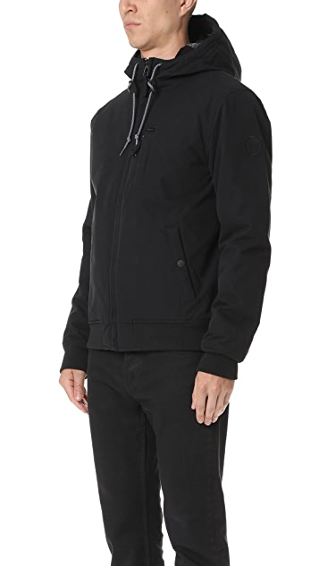 RVCA Hooded Bomber Jacket