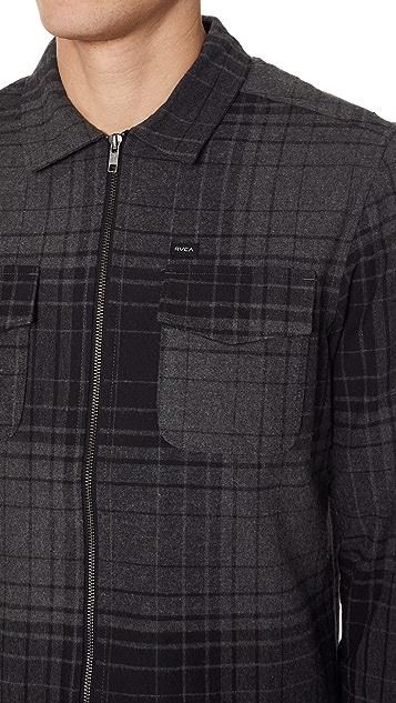 RVCA Lamar Zip Shirt