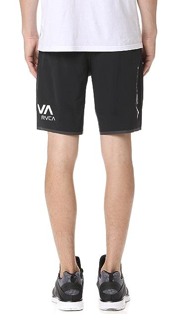 RVCA Staff III Dual Layer Shorts