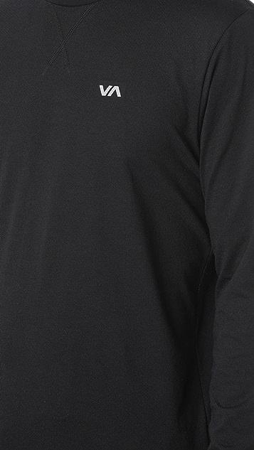 RVCA Runner Mesh Long Sleeve Shirt