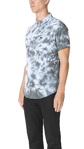 RVCA That'll Do Rinsed Short Sleeve Shirt