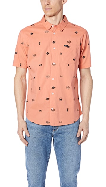 RVCA Mowgli Short Sleeve Shirt