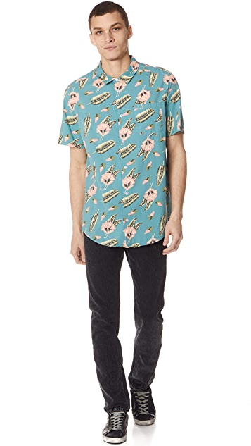RVCA x Pelletier Trunk Short Sleeve Shirt