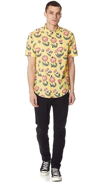 RVCA x Pelletier Trunk Short Sleeve Shirt