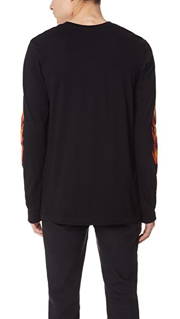 RVCA Hot Rod Long Sleeve Tee