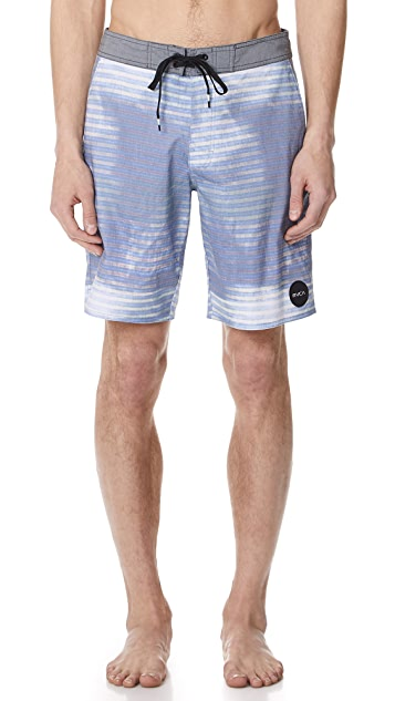 RVCA Boppa Stripe Trunks