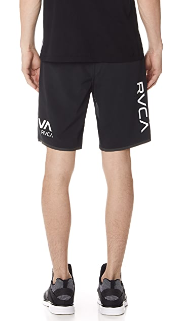 RVCA Staff II Dual Layer Shorts