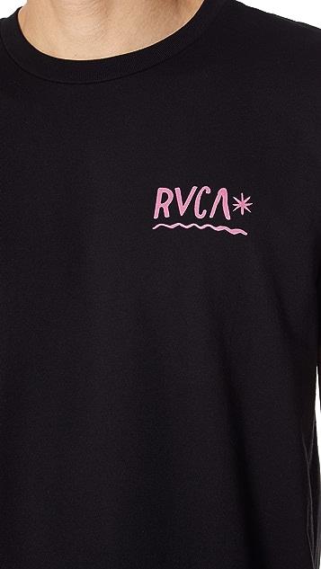 RVCA Squig Tee