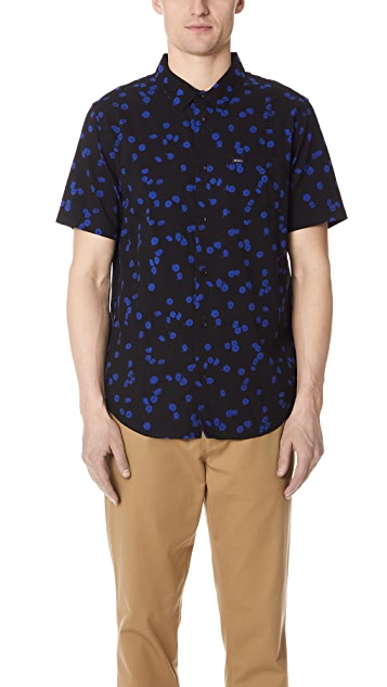 RVCA OD Floral Short Sleeve Shirt