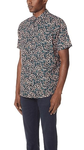 RVCA Barrow Short Sleeve Shirt