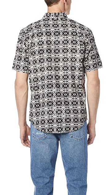 RVCA Visions Short Sleeve Shirt