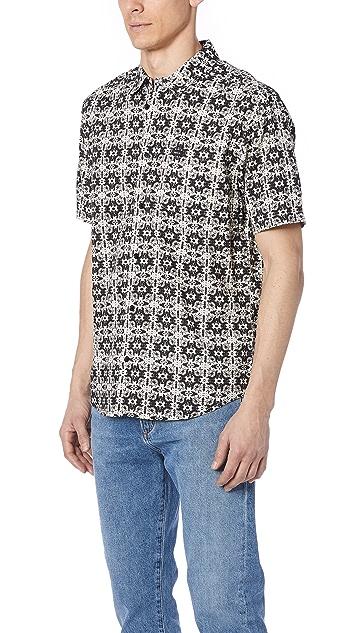 RVCA Visions Short Sleeve Shirt