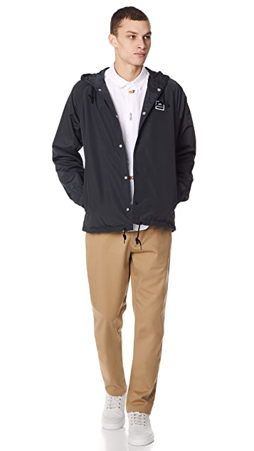 RVCA VA Hooded Coach Jacket