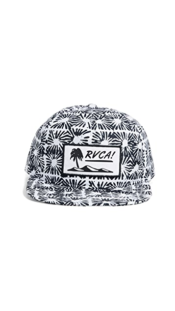 RVCA Duh Loris Unstructured Hat  50431bee78d