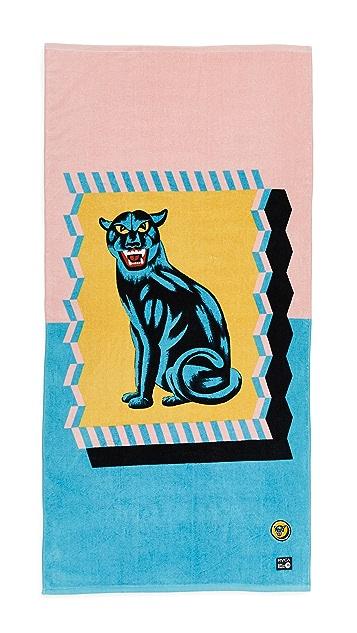RVCA Panther Towel