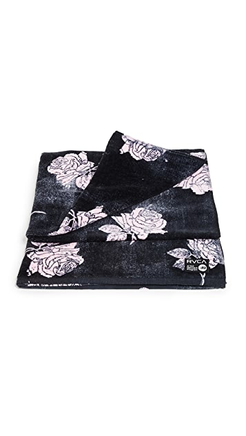 RVCA Oblow Rose Towel