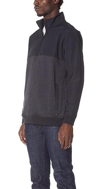 RVCA Top Off Half Zip Shirt
