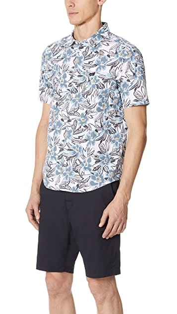 RVCA Paradise Valley Button Down Shirt