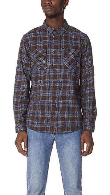 RVCA That'll Work Long Sleeve Flannel Shirt