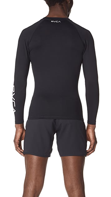 RVCA VA Sport Compression Long Sleeve Shirt