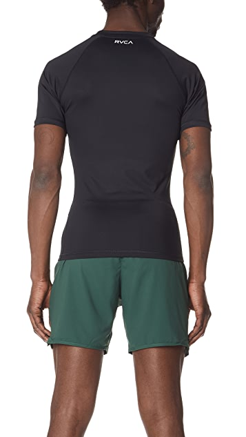RVCA VA Sport Compression Short Sleeve Shirt