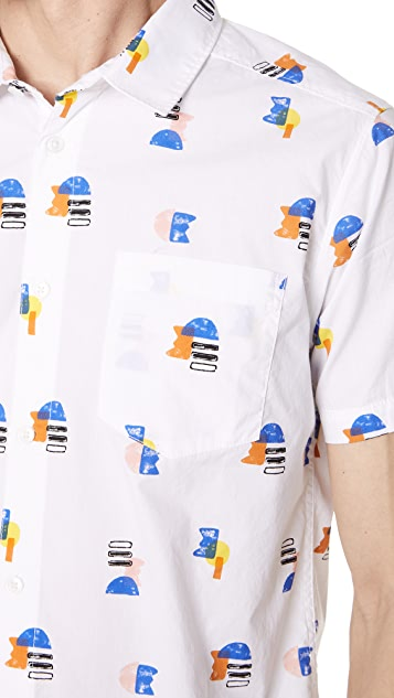RVCA Margo Short Sleeve Shirt