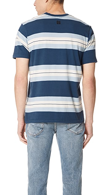 RVCA Oxnard Stripe Shirt