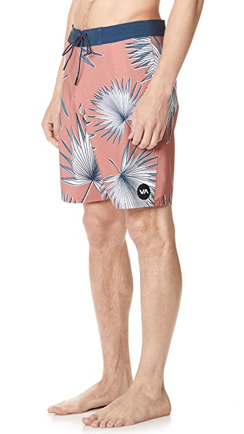 RVCA Back in Hybrid Board Shorts