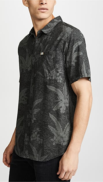 RVCA Andrew Reynolds Hawaiian Short Sleeve Shirt