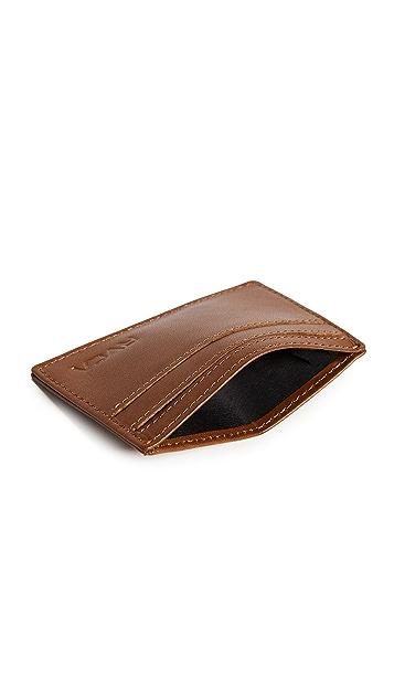 RVCA Clean Card Wallet