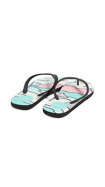RVCA Sleeper Sandals