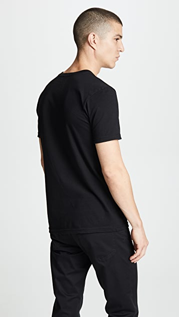 RVCA Dropped In Short Sleeve Tee