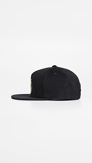 RVCA Slant Box Snapback Hat