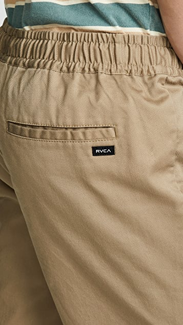 RVCA Weekend Elastic Shorts