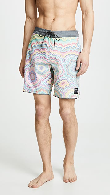 RVCA Kelly Psyche Trunks