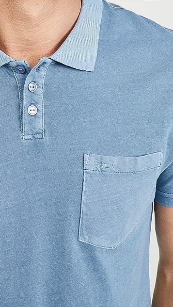 RVCA Ptc Pigment Dyed Polo Shirt