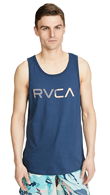 RVCA Blinded Logo Tank Top