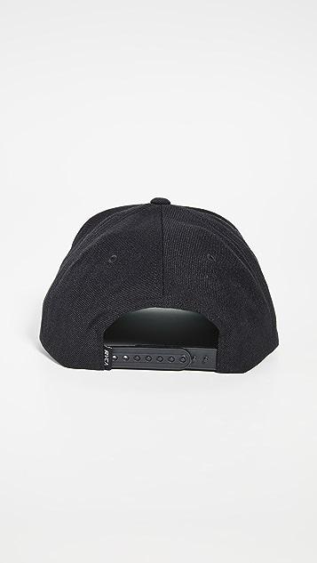 RVCA Script Snapback Hat