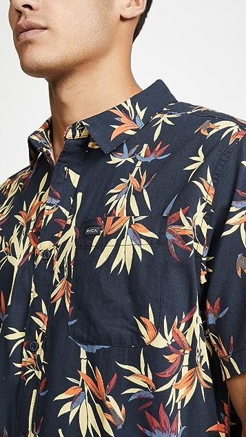 RVCA Bamboozled Button Down Shirt