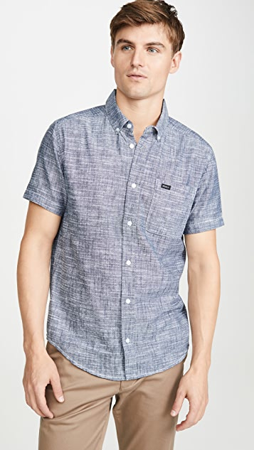 RVCA That'Ll Do Dobby Button Down Shirt
