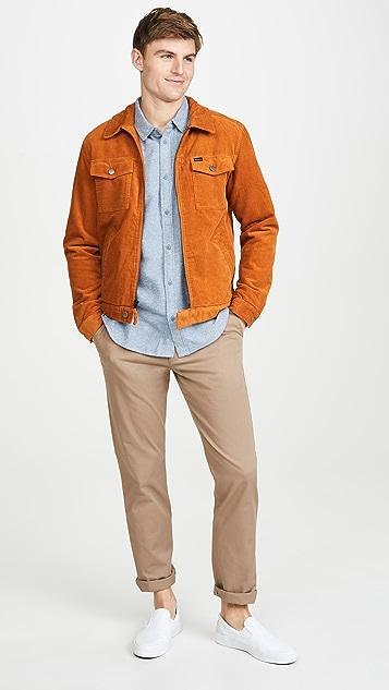 RVCA Flannel Button Down Shirt