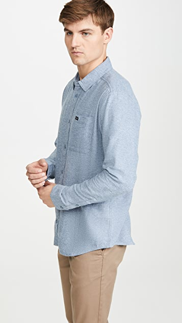 RVCA Flannel Button Down Shirt