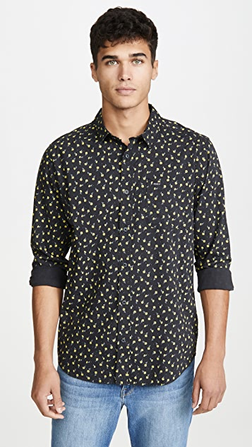 RVCA Prelude Floral Button Down Shirt