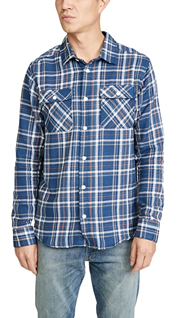RVCA Avett Flannel Button Down Shirt