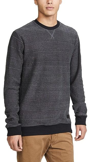 RVCA Luxury Crew Neck Sweatshirt